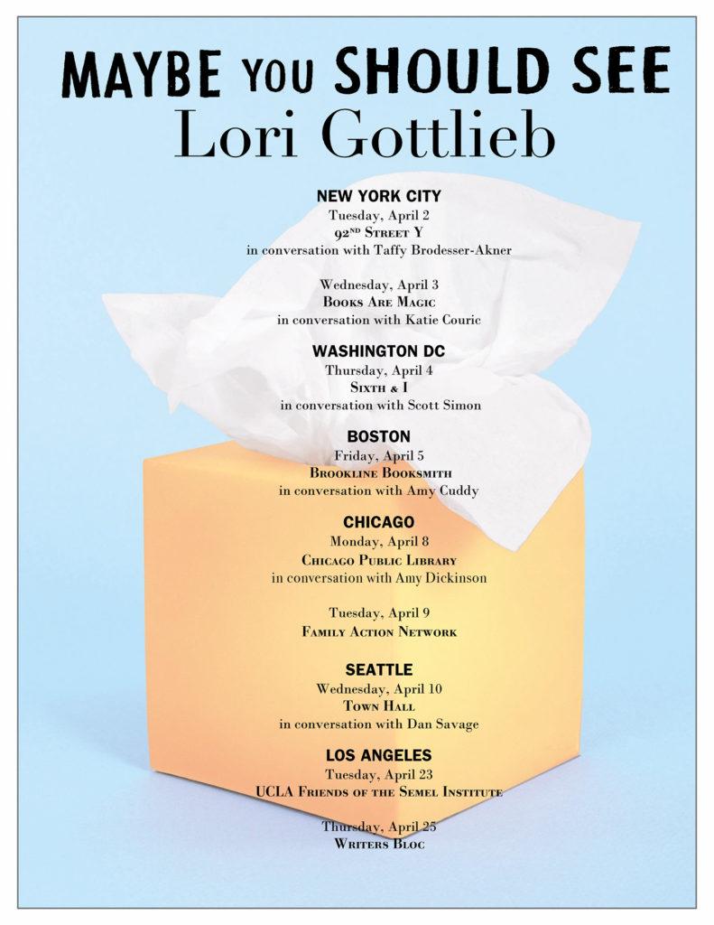 Maybe You Should See Lori Gottlieb