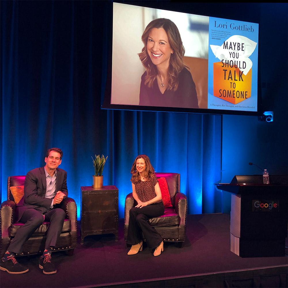 Google Talk with Joel Stein and Lori Gottlieb