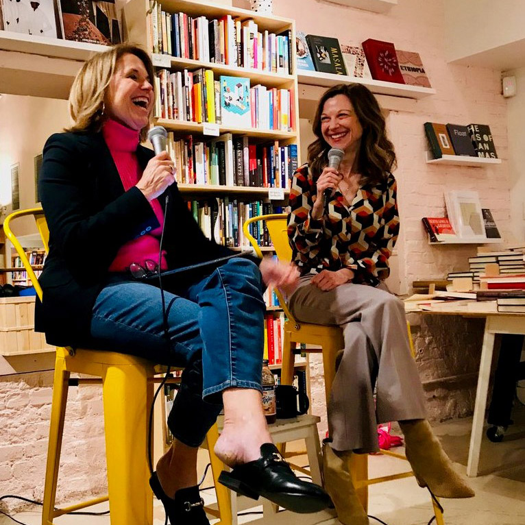 Katie Couric and Lori Gottlieb at Books are Magic Event