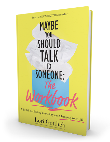Maybe You Should Talk to Someone Workbook Cover